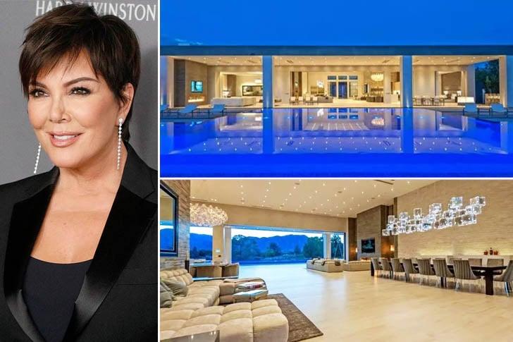 La maison de luxe de Kris Jenner