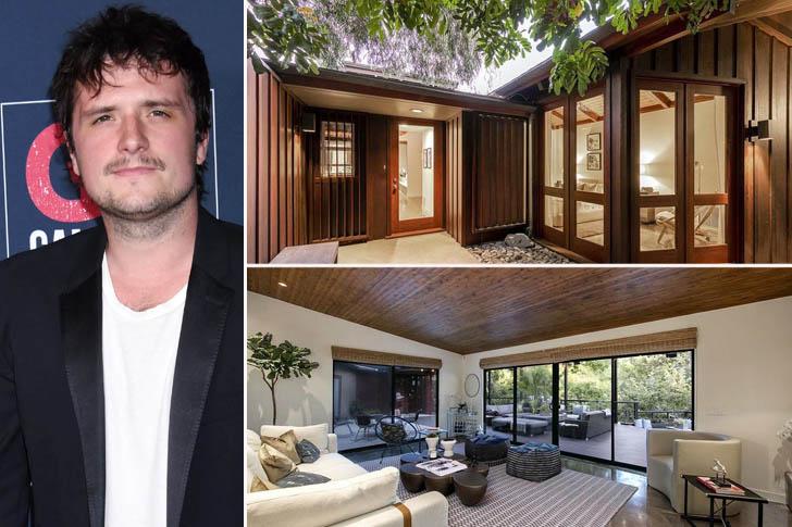 La maison de luxe de Josh Hutcherson
