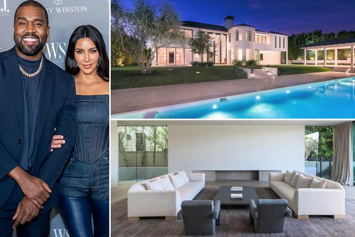 Villas : la maison de luxe de Kim Kardashian et Kanye West