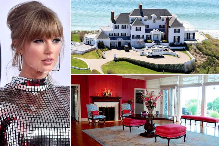 La maison de luxe de Taylor Swift, Rhode Island