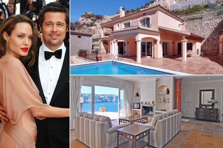 Villas de luxe, la maison de Brad Pitt et Angélina Jolie
